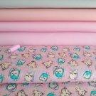 Spící sovičky v růžových peřinkach