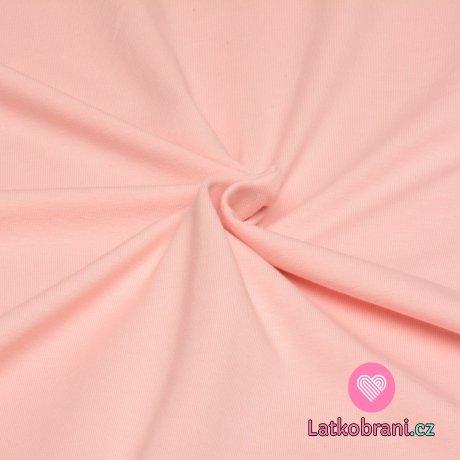 Úplet jednobarevný pudrově růžová 200 g.