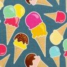 Úplet potisk zmrzliny na jeansově modré