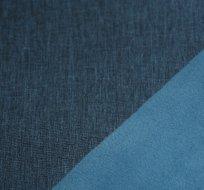 Softshell melé modrá jeansový vzhled tmavý