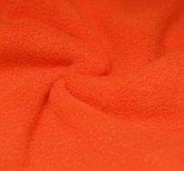 Polar fleece oranžový mrkvový antipilling