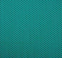 Úplet puntíky petrolej na smaragdové (malý)