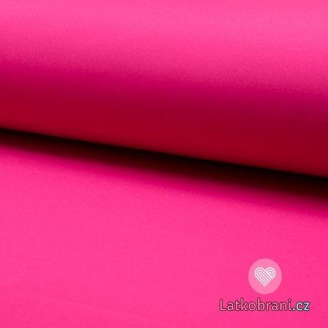 Softshell růžový fuchsie s fleecem