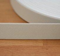 Pruženka 20 mm bílá