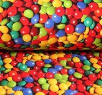 Teplákovina barevné dražé