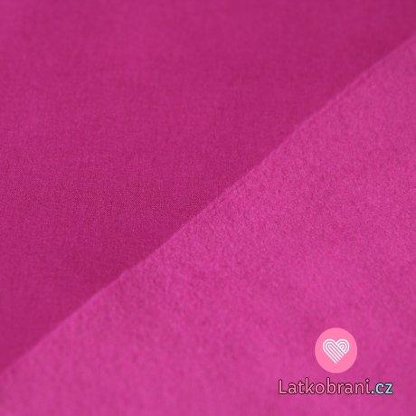 Softshell strečový amarant s fleecem