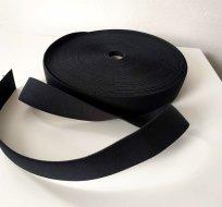 Pruženka barevná černá 25 mm