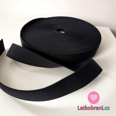 Pruženka barevná černá 38 mm