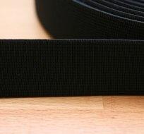 Pruženka plochá černá 30 mm