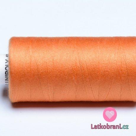 Nitě hagal - oranžová pylová 500 m (14x2)