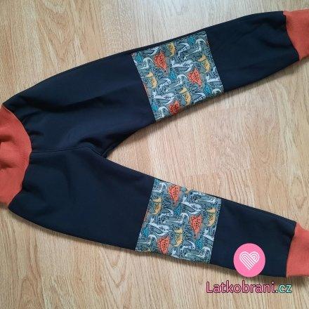 Zimní softshellové kalhoty