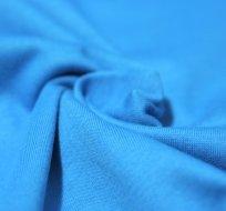 Jednobarevný úplet modrý tyrkys 170g