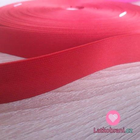 Pruženka barevná červená 25 mm