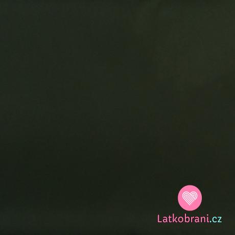 Šusťák jednobarevný khaki zelený