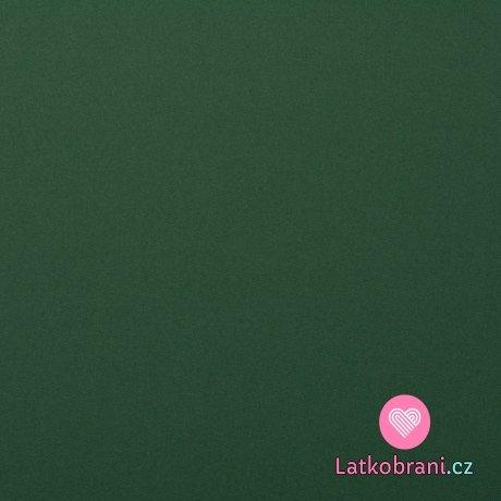 Softshell s fleecem, pružný zelený