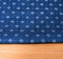 Jeans/Denim květiny ornamenty na modré