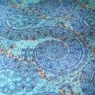 Teplákovina mandaly do spirály modré