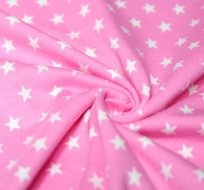 Úplet hvězdy malé na růžové dětské 5mm