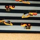 Softshell žlutý jeřáb na tmavě modrých proužcích 2. jakost SLEVA