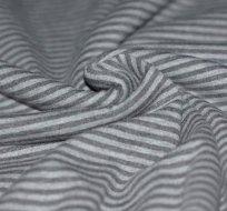 Náplet proužky šedý s šedou