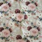 Úplet potisk elegantní růže na béžovo-ecru podkladu