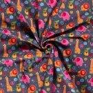 Softshell barevná zvířátka ze zoo na šedém podkladu