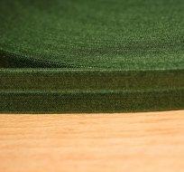 Šikmý proužek / lemovací pruženka zelená tmavá