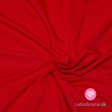 Úplet modal jednobarevný červený