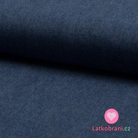 Jeans/Denim modrá riflová