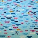 Úplet rybičky, kotvičky s kopečky na modroučké