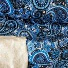 Teplákovina potisk modré mandaly