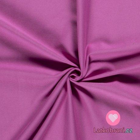 Jednobarevný úplet šeříkově fialový 240 g