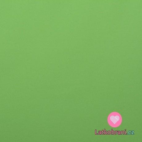 Softshell letní pružný svěže zelený