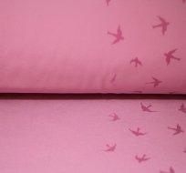 Magický softshell vlaštovky na starorůžové s fleecem
