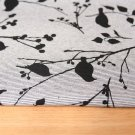 Úplet ptáčci na šedé jemné proužky