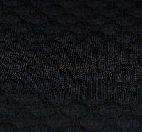 Pletenina plastické bublinky černá