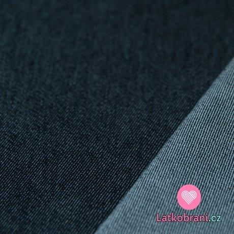Jeans / Denim strečová tmavě modrá