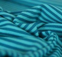 Náplet proužky tyrkysové s modrou
