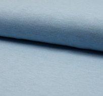 Jednobarevný úplet světle modrá melange