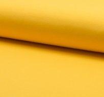 Jednobarevná teplákovina žlutá