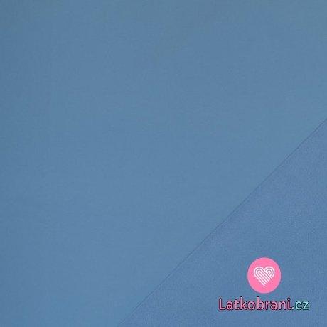 Softshell modro-šedá s fleecem
