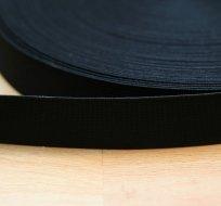 Pruženka dětská černá 20 mm