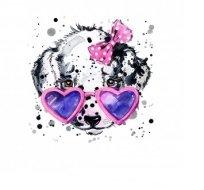 Panel dalmatýn v brýlích