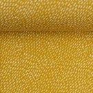 Úplet potisk bílé čárky na hořčicové