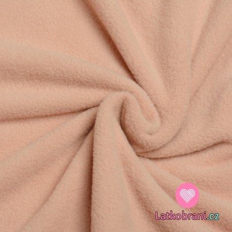 Slabší fleece růžový