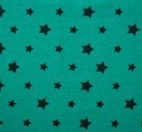 Úplet hvězdy petrolejové na smaragdové (různě veliké)