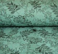 Warmkepeer listy na smaragdové melé