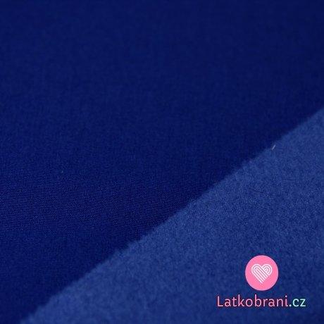 Softshell královsky modrý tmavý s fleecem