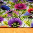 Úplet digitisk chrpa v květu modrá, fialová