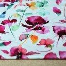Úplet fialkové květy na bílé